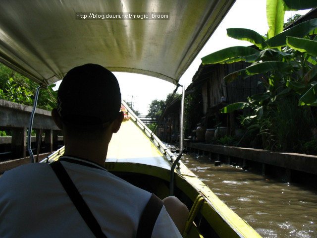 [방콕]수상시장투어와 셋째날 일정