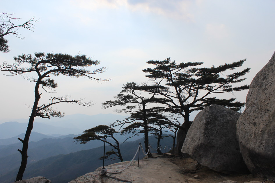 춘천 오봉산과 용화산 등산(백치고개~오봉산~배후령~고탄령~용화산~큰고개/20170318) 코스