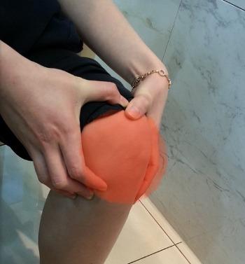 [슬개골연골연화증치료] 무릎이 펴지지 않아요- 봉침, 관절한약으로 치료