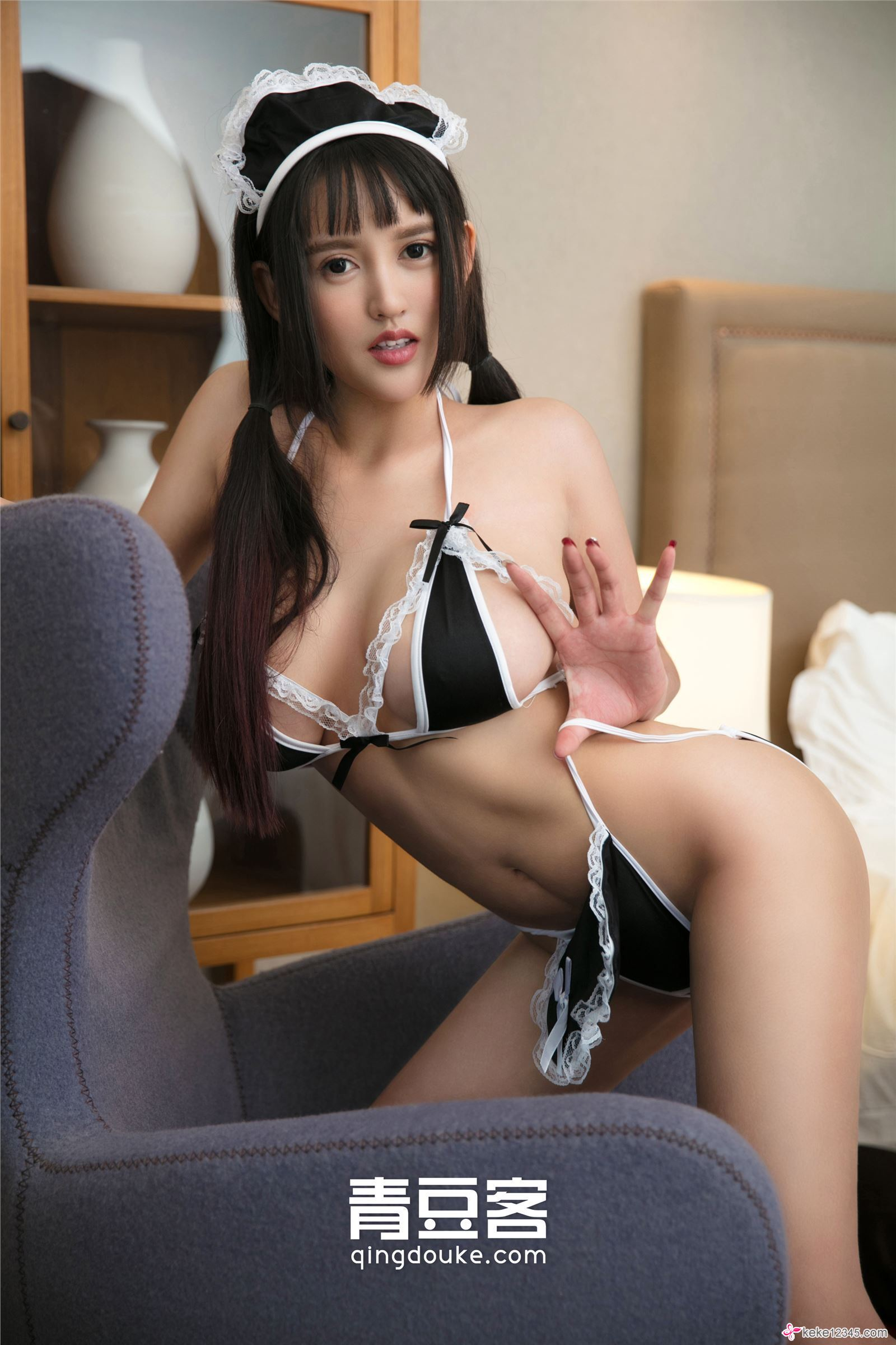 hot maid wearing Chinese glamour